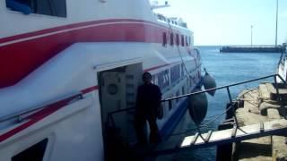 Kapal Cepat Kupang-Rote Bahari Express di Pelabuhan Tenau Kupang NTT