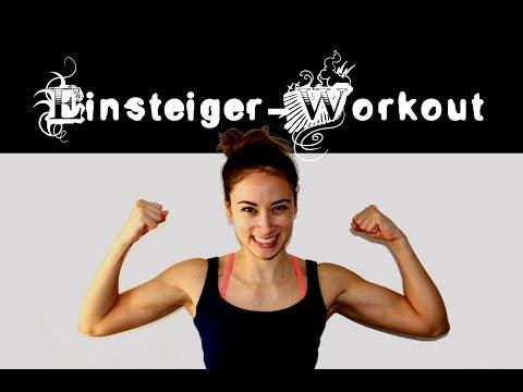 Workout für Einsteiger / Anfänger #1 - Abnehmen, Fettabbau, Schlank Sixpack Gewicht verlieren