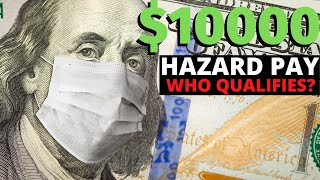 $10000 Hazard Pay For Essential Workers   What you MUST Know