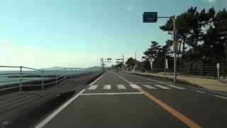 高知県道14号線 香南市・赤岡→高知市・春野