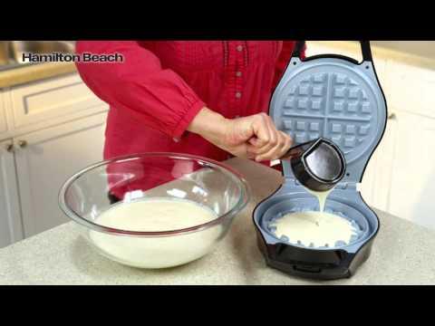 Hamilton Beach Durathon Ceramic Waffle Maker 26043
