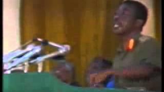 Mengistu Hailemariam the Ethiopian President