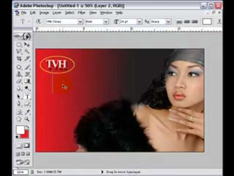 Lop thiet ke album-Thiet ke Name Card (2) HocPhotoshop.Com