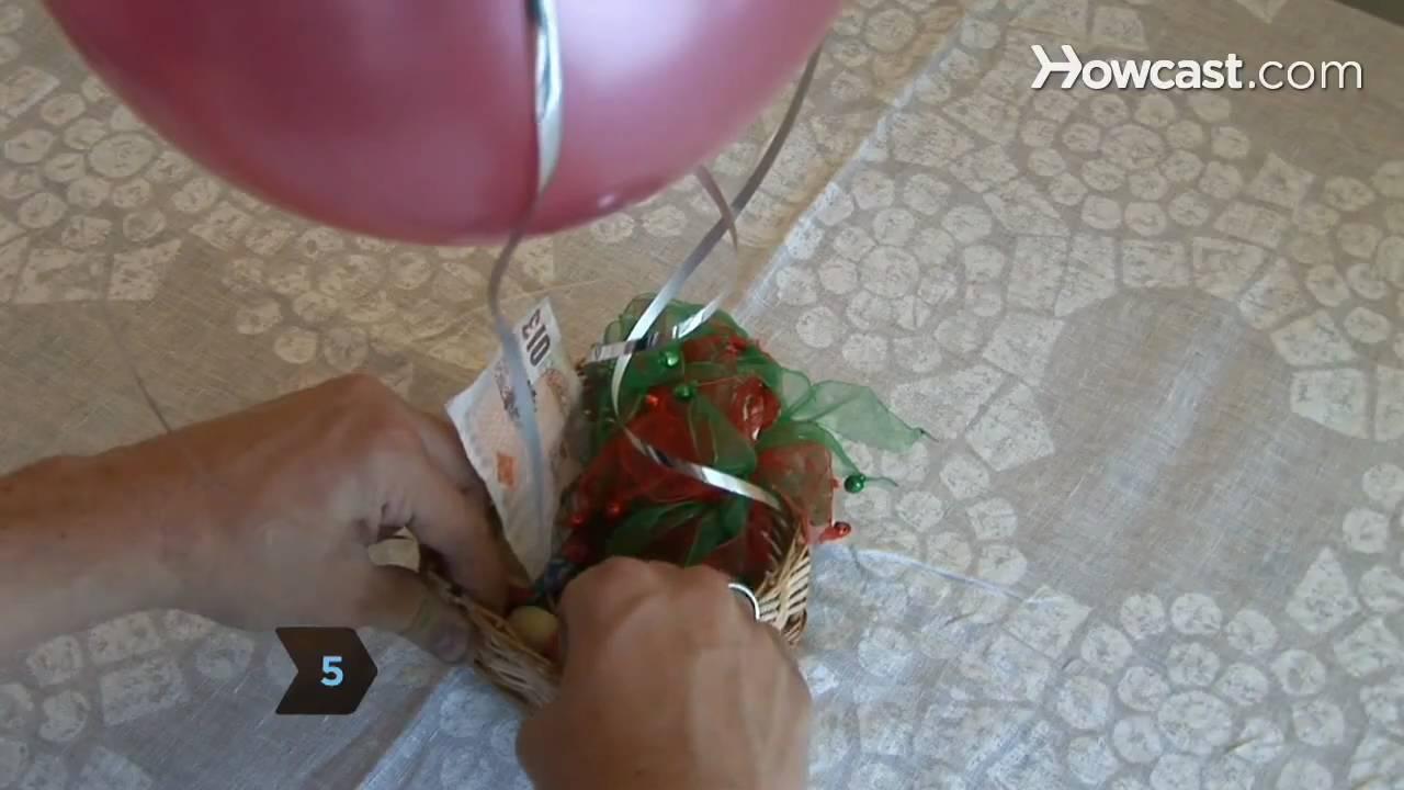 How To Make A Hot Air Balloon Centerpiece Youtube