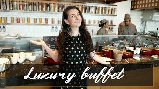 LUXURY SOUTH INDIAN FOOD BUFFET: Grand Hyatt Kochi Bolgatty | TRAVEL VLOG IV