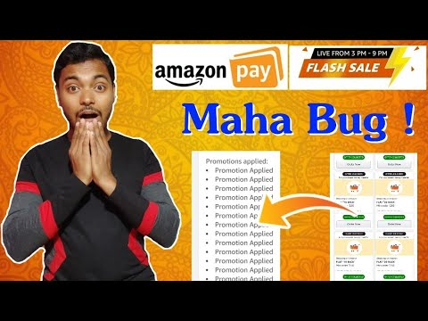 #Working Amazon Maha BUG Again 😱 || Get Unlimited Shopping Coupons for free shopping