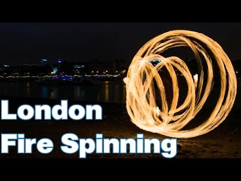 London : Fire Spinning : October 18th