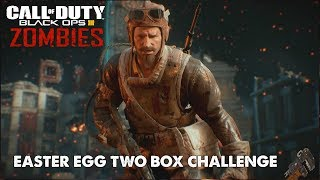 GOROD KROVI EASTER EGG TWO BOX CHALLENGE CON SUSCRIPTORES  | Call Of Duty: Black Ops 3 Zombies