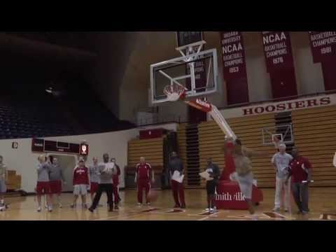 IU Football Dunk Contest - Cody Latimer