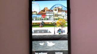 Riverside Park Live Wallpaper screenshot 2