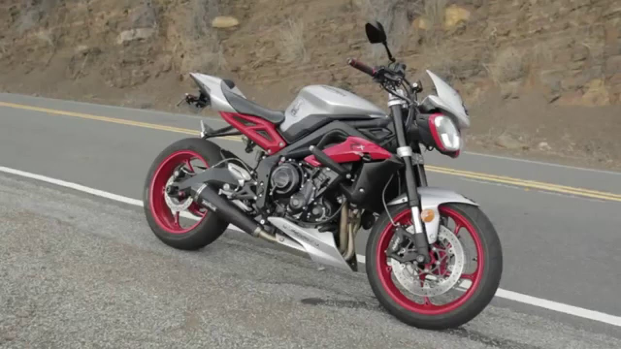 2015 Triumph Street Triple Rx Year End Review Youtube