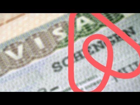 Подтверждение бронирования Airbnb для визы - квитанция - бронь жилья Аирбнб, печать, анкета на визу