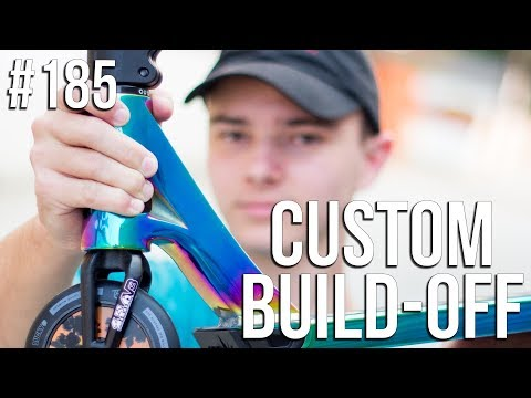 Custom Build Off 4!! - Part 2 (ft. Austin Spencer) │ The Vault Pro Scooters