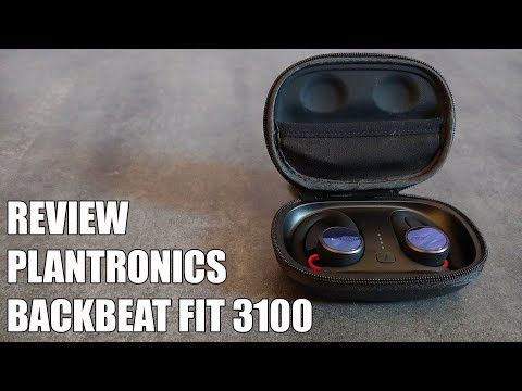 Review Plantronics Backbeat Fit 3100 Nuevos Auriculares Bluetooth deportivos 2019
