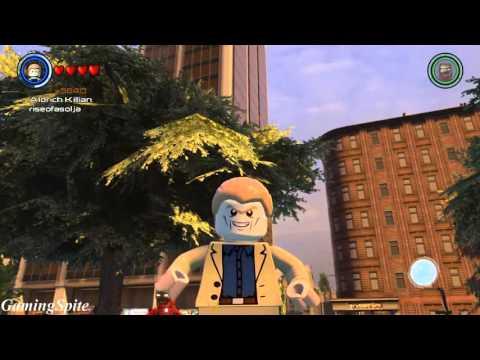 Lego Marvel's Avengers - How To Unlock Aldrich Killian Character Location + Gameplay