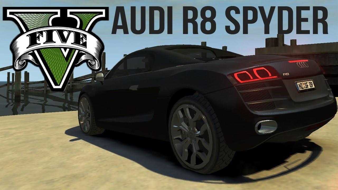 Gta V Vehicles Audi R8 Spyder Youtube