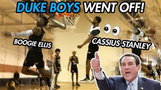 Duke Commits Cassius Stanley & Boogie Ellis SHOW OUT At Iverson Classic! NEW RJ & Zion Williamson!?
