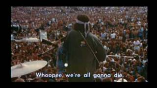 Country Joe McDonald live at Woodstock