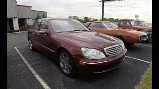 2004 Mercedes Benz S600 W220 V12|Walk Around Video|In Depth Review