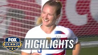 Mewis heads it in to give the USWNT an early lead vs. Panama | 2018 CONCACAF Women's Championship