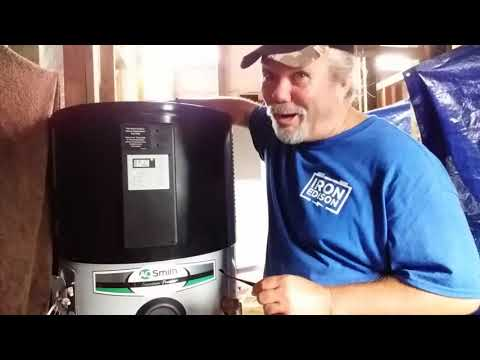 12 Off Grid AO Smith Hybrid Water Heater Installation And Review
