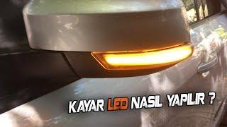 Ayna Kayar Ledi Nasıl Yapılır ? / Ford Focus Ayna Kayar Led & Test !