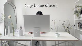 [HOME OFFICE] 꽃같은 10평 원룸 작업실 인…