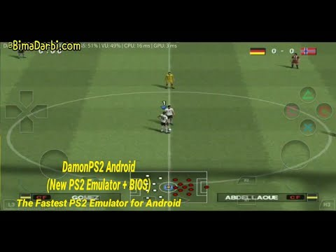 PS2 Android) Pro Evolution Soccer 2013 (PES 2013) | DamonPS2 Pro