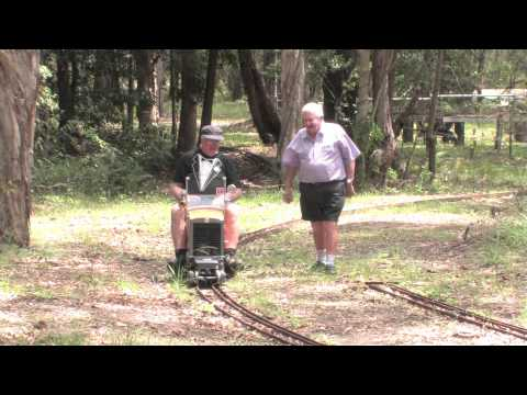 Woodford Railway and Bribie Island Ride on Trains