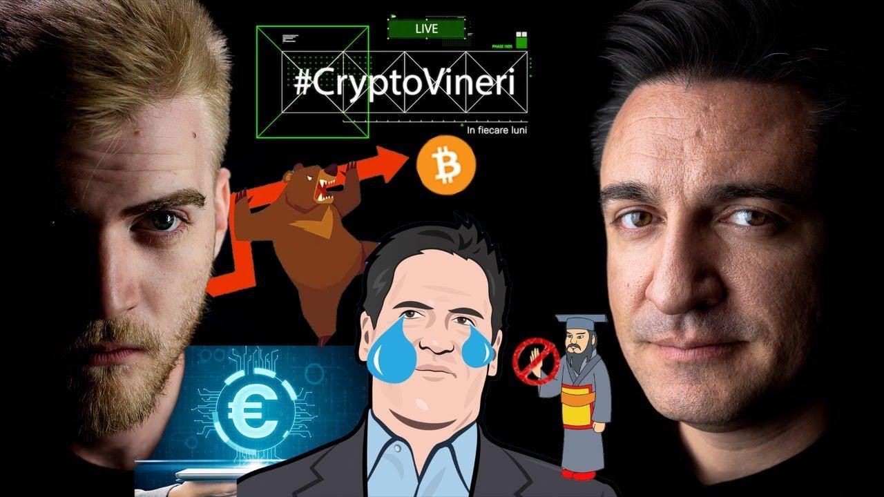 #CryptoVineri 25 - Bitcoin înapoi la 30k, Mark Cuban pierde în DEFI și noutăți despre EURO digital