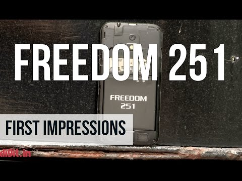 Ringing Bells Freedom 251 (New Version) First Impressions | Digit.in