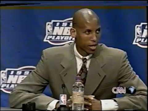1998 NBA action playoffs episode