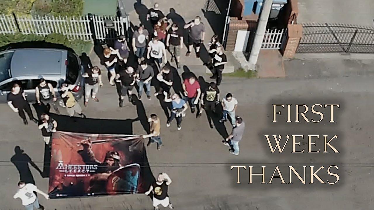 Ancestors Legacy - First Week Thanks Video