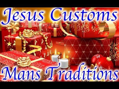 "Jesus Holy Days Vs. Mans Holidays ""Christmas/Thanksgiving """