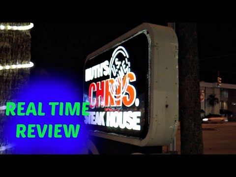 Ruth's Chris Steakhouse Review