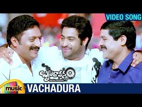 Vachadura video Song |   Brindavanam Movie | Jr NTR