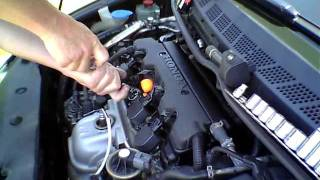 How to change the spark plugs in an 8th generation Honda Civic