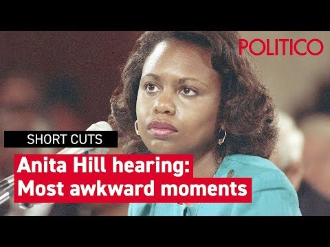 The most awkward moments from the Anita Hill hearing