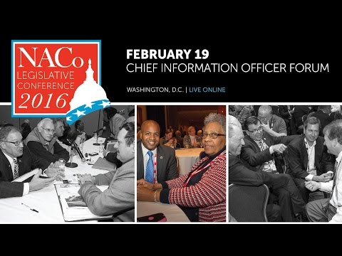 2016 Legislative Conference Chief Information Officer Forum