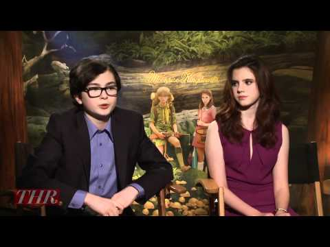 Jared Gilman and Kara Hayward on 'Moonrise Kingdom'