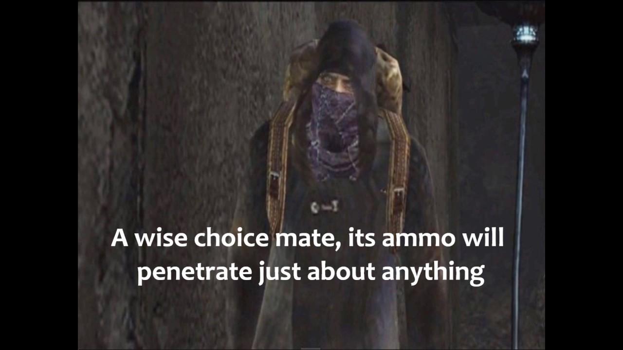 Resident Evil 4 Merchant Quotes Youtube