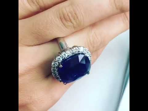 Sapphire Ring from Srilanka