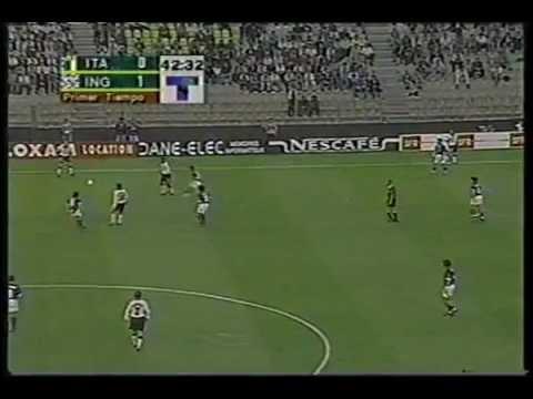England v Italy 2-0 Le Tournoi 1997