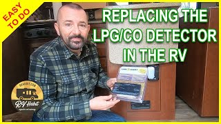 Replacing The LP Gas / CO Detector In The RV – How To Replace Propane and Carbon Monoxide Detector