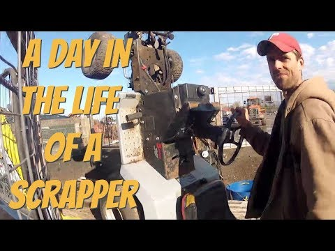 Money for metalstuff for free A day in the life of a scrapper and reseller