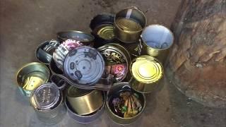 Деньги на металлоломе!!!собираем банки от консервов!!!