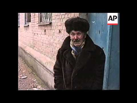 RUSSIA: CHECHNYA: RUSSIANS MOUNT HEAVY ATTACK ON GROZNY