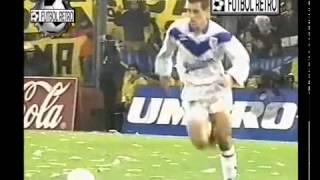 Velez 5 vs Boca jrs 1 clausura 1996 Chilavert-Maradona parte 1