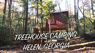 Treehouse Camping In Helen, Georgia - Part 1