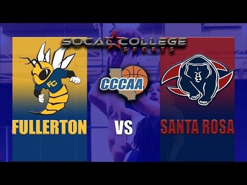 cccaa-men's-basketball-quarterfinals:-fullerton-vs-santa-rosa---3/14/19---7pm